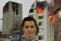 Známý sportovec bydlel v paneláku smrti: Měli jsme štěstí v neštěstí, ozval se po výbuchu