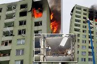 Hasiči z Prešova terčem kritiky: Proč jste po výbuchu nezachránili dědu z 11. patra?