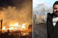 Obří požár v Řeporyjích: Skanzen lehl popelem! Jen pár hodin před jednáním o pomníku vlasovcům