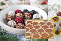 Chystejte nepečené cukroví: Ledové šuhajdy, krémové kuličky i kávová zrna