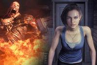 Nová zdeformovaná mutace! Resident Evil 3 remake vypadá správně děsivě