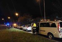 Vražda v Braníku: Ubodaného muže našli v zarostlém svahu