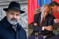 """Zeman vulgarizuje Česko, udeřil Halík. Ovčáček se rozlítil: """"Plete si církev a stranu"""""""