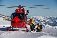 V Alpách se vážně zranila dívka (7) z Česka: Letěl pro ni vrtulník