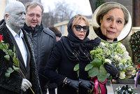 Pohřeb Táni Fischerové (†72): Bílá rakev i slzy Havlové! Harapes řekl, co se mu na ní nelíbilo