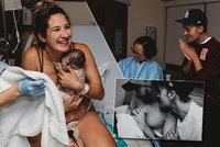Dechberoucí! Náhradní máma Lauren porodila malou Nelly dvěma tatínkům! Tyhle fotky vás dojmou!
