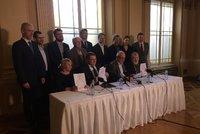 Pád koalice v Praze 1 ŽIVĚ: Strany podepsaly smlouvu ještě před odvoláním starosty, kdo nahradí Čižinského?