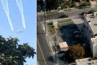 Letadlo v potížích vypustilo palivo: Chemikálie pokropila i děti ve školce!