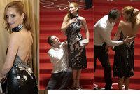 Hanka Vagnerová se na premiéře rozjela: Hříšný tanec na schodech!