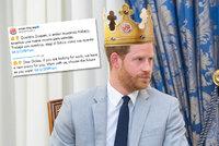 Nová pracovní nabídka pro Harryho: Známý fast food si z něj vystřelil! Dostal by i korunu
