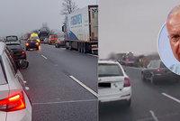 Řidiči zneužili záchrannou uličku! Totální bezohlednost, míní dopravní expert