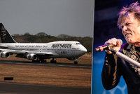 Obrovská pocta pro zpěváka Iron Maiden: Byl jmenován čestným členem RAF!
