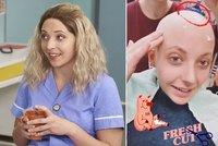 Anička Slováčková uprostřed chemoterapií: Holení hlavy žiletkou pro dobrou věc!