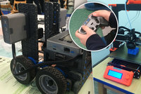 """Na Proseku vznikla malá """"továrnička"""" na roboty. V rámci polytechnického hnízda je vyrábí děti"""