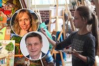 Nejmenší malíři se utkali na Praze 5, vítězové navštíví ostrov věčného jara, Madeiru