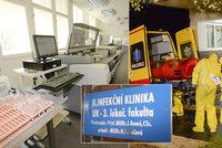 ŽIVĚ: Podezření na koronavirus na Bulovce! Nemocnice čeká na výsledky pacientky