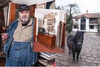 Jak bydlí zakladatel babyboxů Ludvík Hess? Luxusní romantika s nádechem divokého západu!