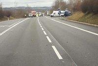 Tragická srážka u Bystřice: Muž (†28) skočil kamioňákovi pod kola!