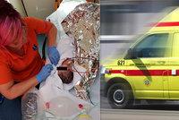 Porod přes telefon: Záchranář Luboš s asistentkou pumpařkou odrodili zdravé miminko
