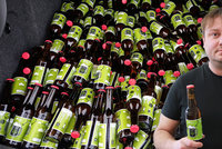 Unikátní pivo Zmoklá sova je vyrobené z dešťovky: Můžete ho ochutnat, ale nekoupíte ho