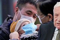 Koronavirus ONLINE: Čínské studenty v Česku izolují, jaké Klaus našel pozitivum?