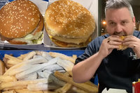 Muž na zahradě zakopal menu z McDonaldu: Po 14 měsících ho celé spořádal