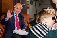 Senátor Fischer promluvil o smrti syna Vojty: Sáhli jsme si na dno, ale zvládli to
