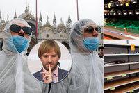 Koronavirus ONLINE: V Itálii zemřelo 7 lidí, Češi skupují roušky, Vojtěch přiznal obavy