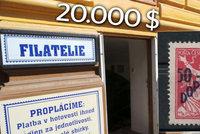 Čech nabízí filatelistický poklad za půl mega. Padělek, skutečná cena je vyšší, tvrdí znalec