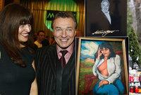 Nejbohatší Gottova (†80) milenka má doma jeho obraz: Namaloval ji nahou!