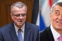 """Kalouskovy spory: Babiše označil za """"chcípající kobylu"""". A schytal to od Rakušana"""