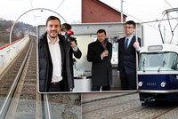 Oprava tramvajové trati na Barrandov: Cestující od 14. března musí počítat s omezením provozu