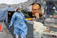 Děsivá zpověď lékaře o koronaviru: Jsme na dně, je to jako válka. Lidé se nebojí dost