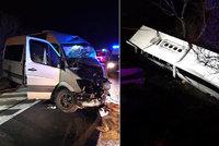 Tragická nehoda autobusu na Slovensku: Dva mrtví, desítky zraněných