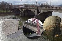 Hlávkův most se bourat nebude. Opravy začnou do dvou let