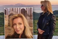 Brožová si přes varování vyjela do Španělska: Jsem v pořádku, zahlásila a jde točit