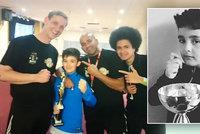 """Nadějného boxera """"Rockyho"""" (†14) našel brácha oběšeného: Prý šlo o nevydařený experiment!"""