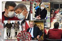 Koronavirus ONLINE: 833 nakažených v Česku. Babiš zuří, koluje zpráva o zákazu vycházení
