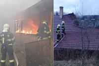 Malý hrdina ze Zlínska zachránil při požáru sestřičku (8): Před plameny utekli na střechu!