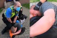 Neměl roušku na ulici, při zásahu kousl pardubickou strážnici do nohy: Vyfasoval mastnou pokutu!