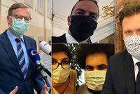 ONLINE Opatření kvůli koronaviru: Změny v ošetřovném, EET a poslanci v rouškách