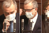 ONLINE: Kalousek měl velký problém s dýcháním. A u Schillerové se slavilo předčasně