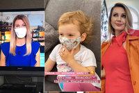 Sandra Pospíšilová prozradila fígl: Ví, jak dítě přimět nosit roušku!