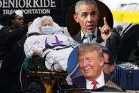 """""""Obraz zkázy."""" V New Yorku se nakazí 4 miliony lidí. Trumpovy """"přešlapy"""" mírní Obama"""