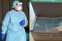 Naštvaná lékařka Eliška: Respirátory z Číny vypadají jako menstruační vložky!