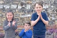 Vskutku královský potlesk! Princátka George, Louis a Charlotte děkovala záchranářům