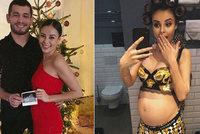 Monika Bagárová v 7. měsíci těhotenství: Strach o miminko!