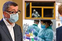 Koronavirus ONLINE: 16 mrtvých a 2817 nakažených v Česku. Začíná test chytré karantény