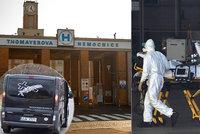"""Smrt sestry z Thomayerky: Koronavirus chytla od taxikáře, který dostává """"zázračný"""" lék! Stěžovala si na chybějící roušky"""
