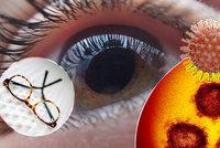 Brýle chrání oči před koronavirem, jenže...Jak zabránit jejich mlžení kvůli roušce?
